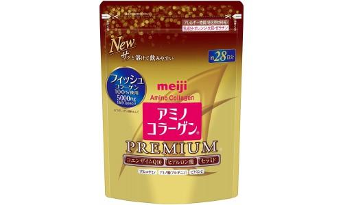 Meiji Амино коллаген премиум 196 г, мягкая упаковка