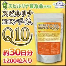 Algae Спирулина Q10 (1200 таблеток на 30 дней)