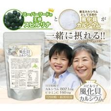 Algae Спирулина и Кальций 1200 таб