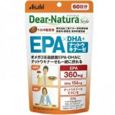 Asahi Dear-Natura  Омега 3 + Наттокиназа 60 дней