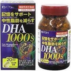 ITOH  DHA 1000  Омега 3 ( OMEGA 3 ) Для Здоровья Всех Органов