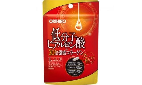 ORIHIRO 30-кратный коллаген, низкомолекулярная гиалуроновая кислота и плацента на 30 дней