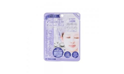 Маска тканевая для лица с колоидной платиной 5  шт. (Platinum essence mask)