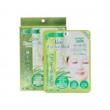 Маска тканевая для лица с экстрактом алое 5 шт  (Aloe essence mask)