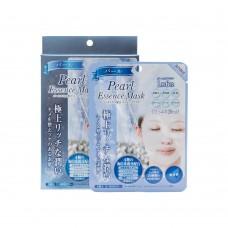 Маска тканевая для лица с экстрактом жемчуга 5 шт. (Pearl essence mask)