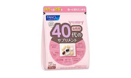 Витамины для женщин старше 40  Fancl