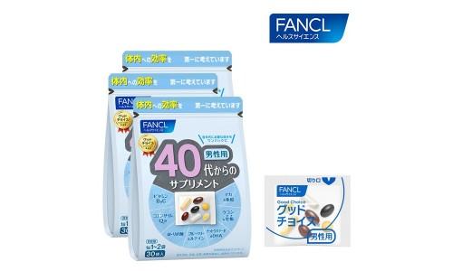 Витамины для мужчин Fancl старше 40 лет
