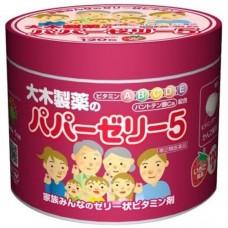 Детские витамины в виде желе с клубничным вкусом Папа Jelly