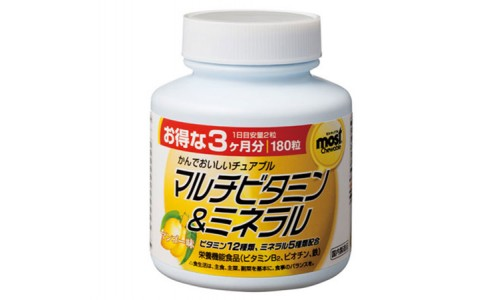 MOST Мультивитамины + Мультиминералы со вкусом манго MOST ORIHIRO