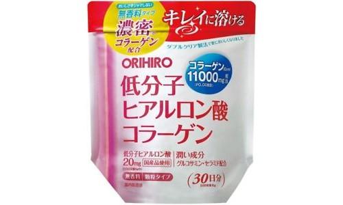 Orihiro Коллаген+ низкомолекулярная гиалуроновая кислота + Глюкозамин