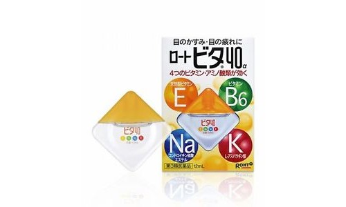 Rohto 40 Vita -alfa Японские Витаминизированные капли для глаз