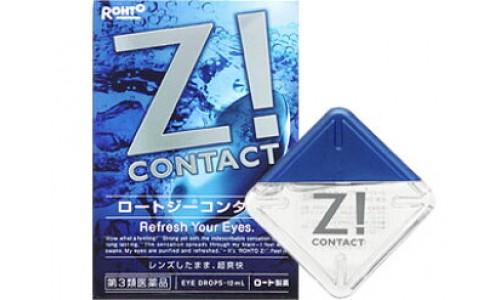 Rohto Z! Contact Капли для контактных линз