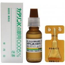 CATALIN-K, Каталин, Японские Капли для глаз (лечение и профилактика катаракты)