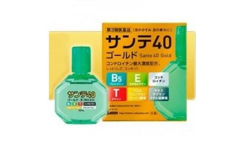 Sante 40 Gold – японские профилактические капли с содержанием хондроитина