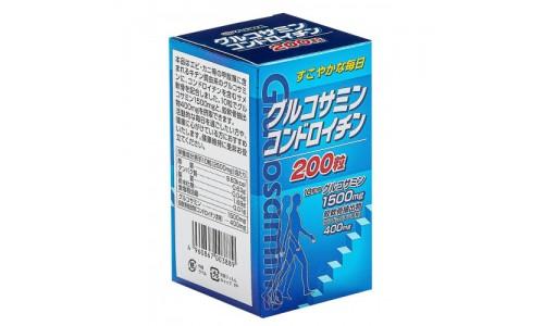 """003889 """"Yuwa""""""""Глюкозамин и хондроитин"""" 250 мг (200 таблеток) 1"""