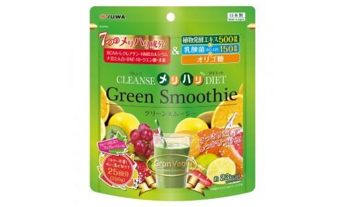 Зеленый смузи Yuwa с водородом и молочнокислыми бактериями для активного похудения и очищения от шла