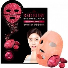 Рубиновая гидрогелевая маска для лица с экстрактом граната Scinic Red Ruby Hydrogel Mask