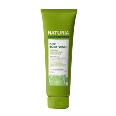 Гель для душа [NATURIA] МЯТА/ЛАЙМ PURE BODY WASH (Wild Mint & Lime), 100 мл
